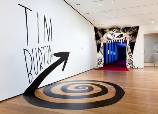 Tim Burton exhibition, MoMA, New York 2009