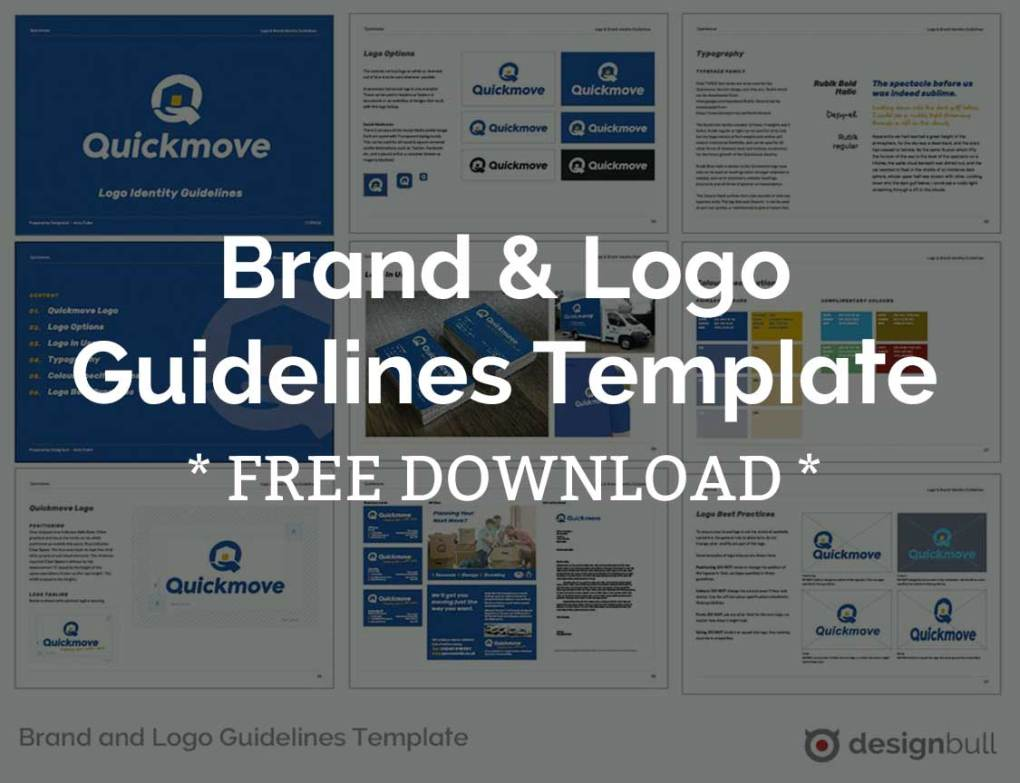 Free Brand and Logo Guidelines Template