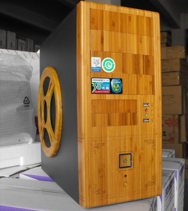 Bamboo pc cases