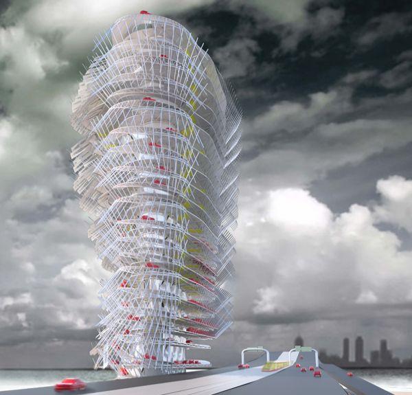 compressive skyscraper