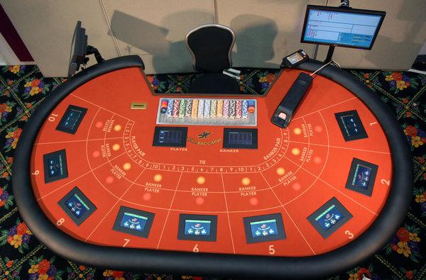 Elite Baccarat Casino Table