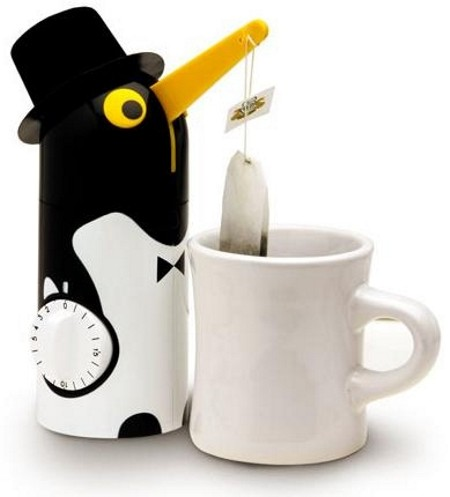 penguin tea timer