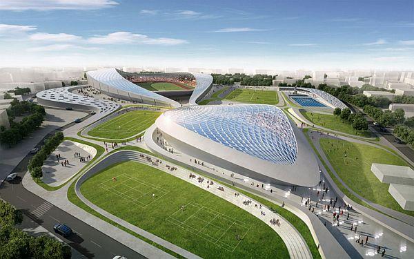 Piezoelectric Sports Stadium