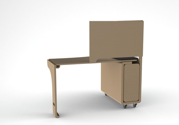 Storable Studio Desk
