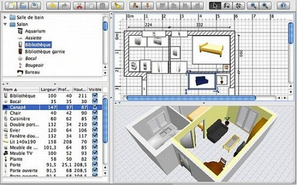 this is a very easy to use interior design software available in both online and download versions the software comes with numerous visual guides that help