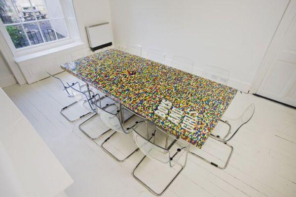 Lego boardroom table