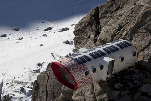 Leaving Ecological Alpine Pod