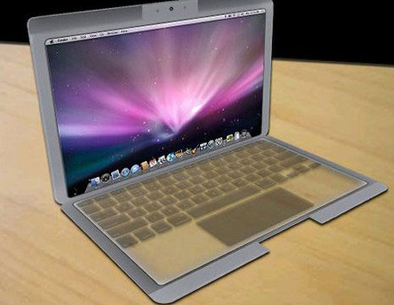 Apple's Open and Shut Case laptop design