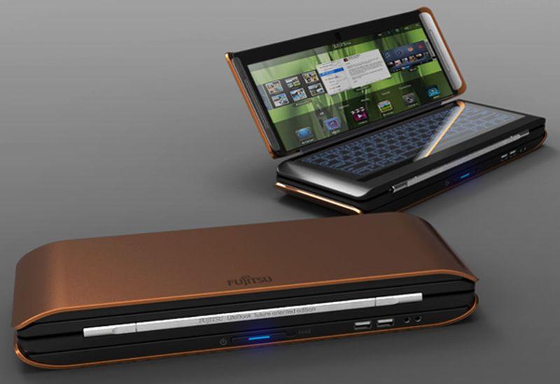 Fujitsu Lifebook X2 laptop design