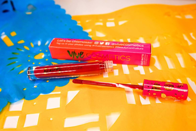 Vive Cosmetics Que Matte Liquid Lipstick in La Patrona