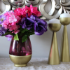 I participated in the nailed it or failed it challenge and did these high end dupes, I did a Horchow dupe of a floral arrangement and a pottery barn dupe of candle holders. Do you think I nailed it or failed it?