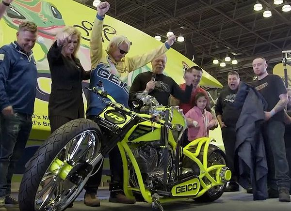Miss Geico Chopper Fans Of Paul Teutul Sr American