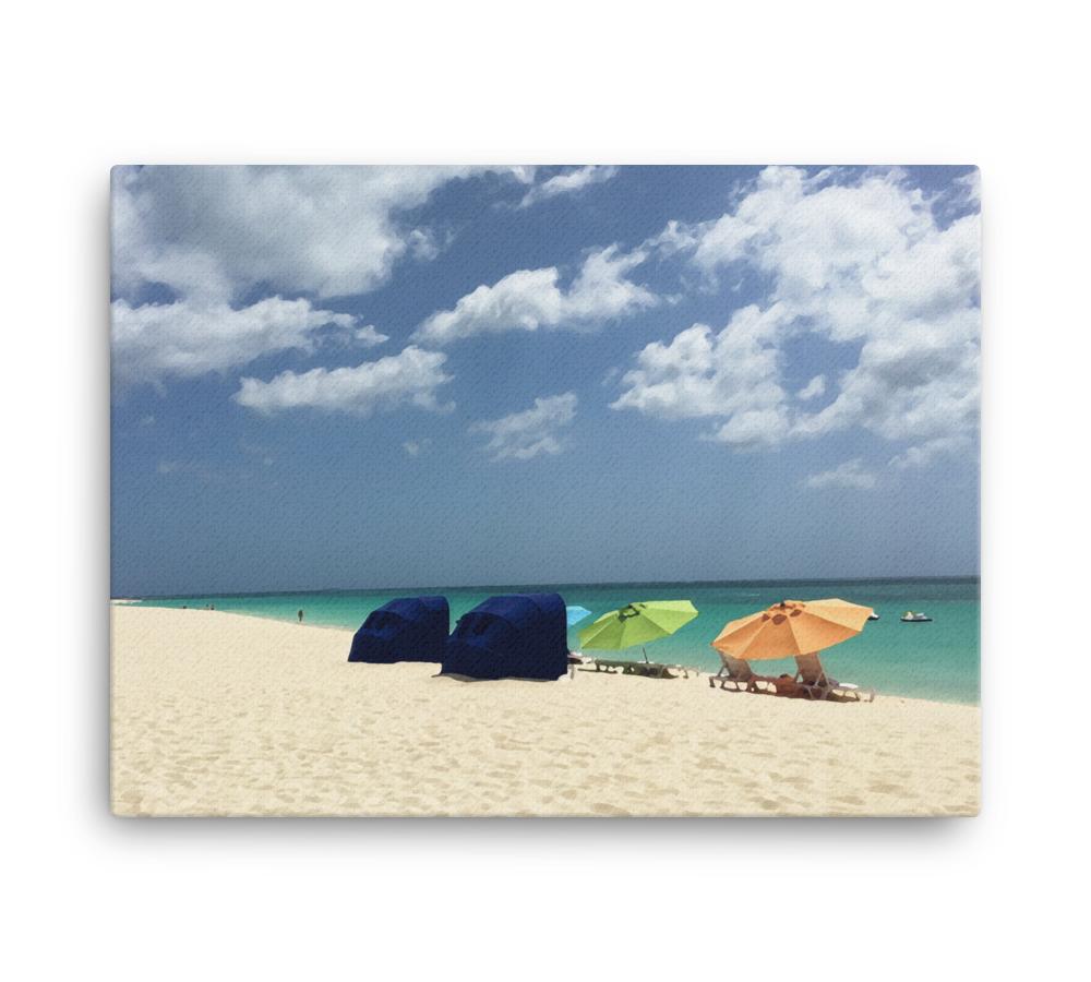 Umbrellas Canvas