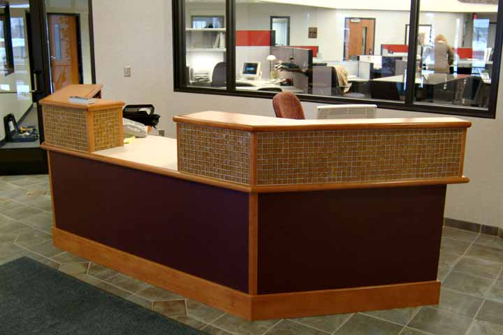 Desk Furniture Reception Office