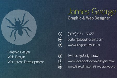 Free Textured Business Card Template   Design Crawl Textured Business Card Template Side 2