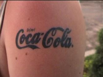tatoo coca-cola