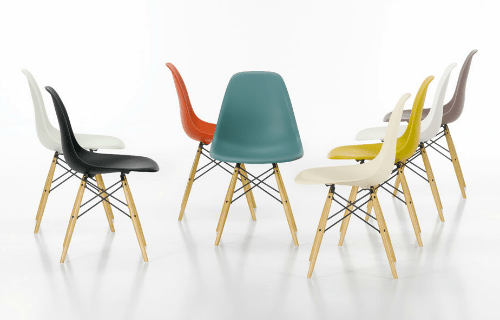 The Eames Molded Plastic Side Chair