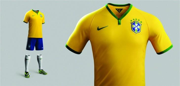 Uniforme Amarelo - Fonte: Nike