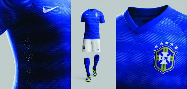 Uniforme Azul - Fonte: Nike