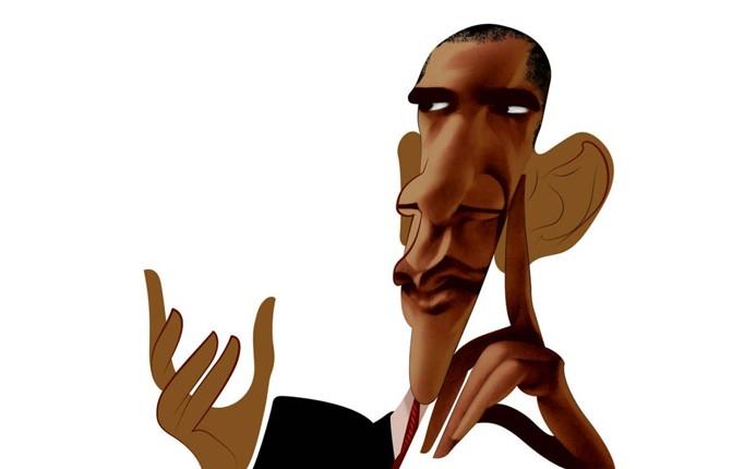 Barack Obama por André Carrilho