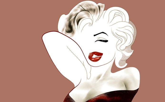 Marilyn Monroe por André Carrilho