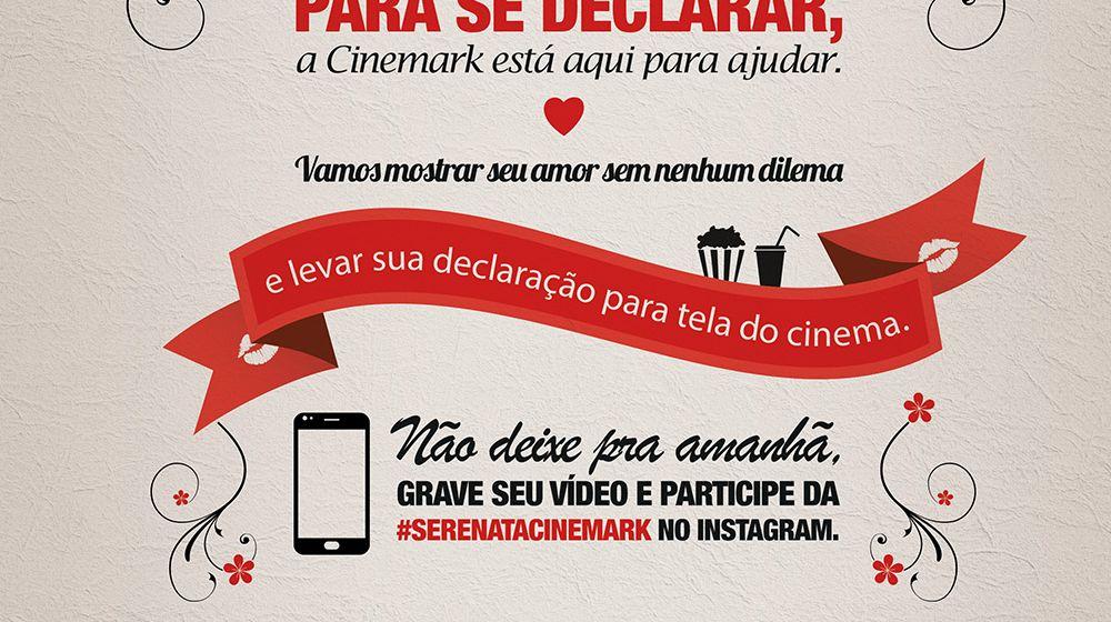 Propaganda de dia dos namorados Cinemark 2015