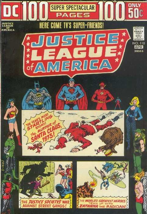 Justice League of America #110