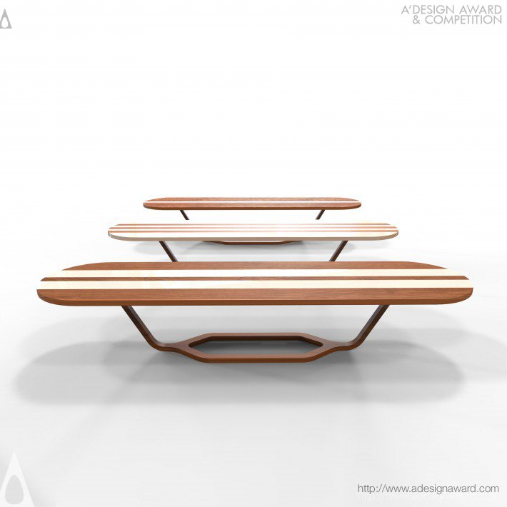 Mesa Baía Formosa, mais um trabalho do estúdio Mula Preta Design.