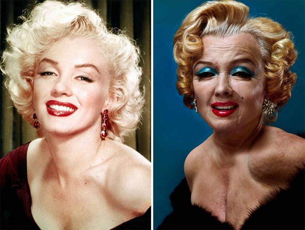 Marilyn Monroe por Andrzej Dragan