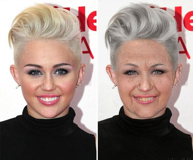 Miley Cyrus por Felipe Bolfe