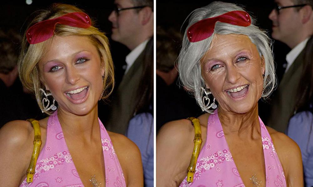 Paris Hilton por Grumplebits