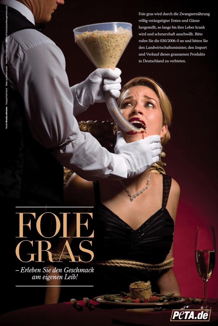 PETA foie gras
