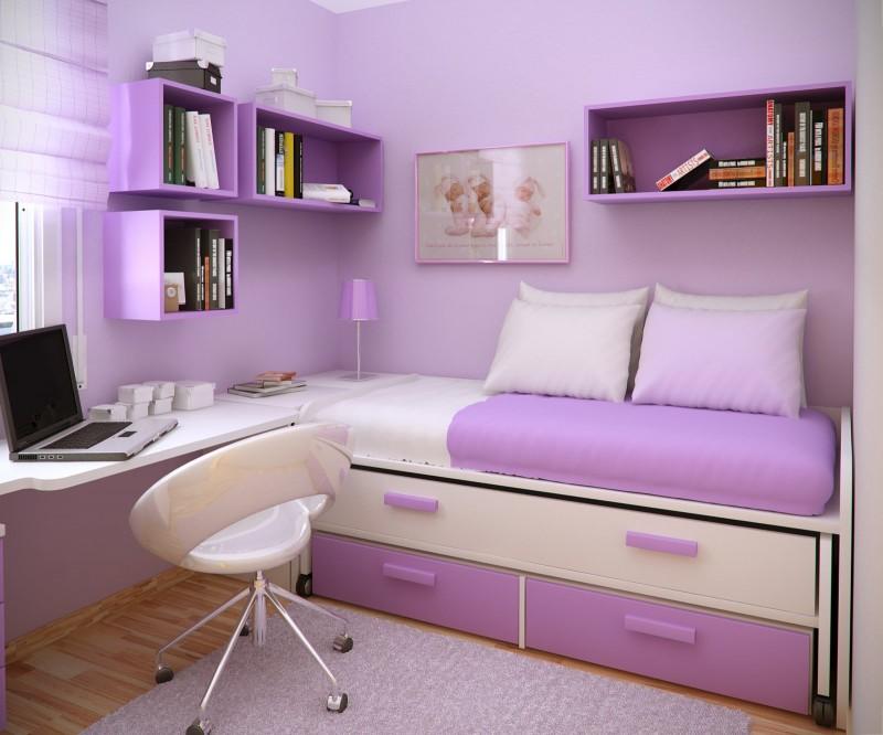 Purple In Tween And Teen Bedrooms Design Dazzle