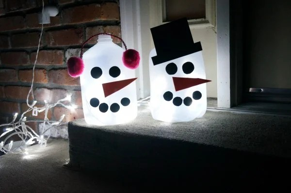 Light Up Outdoor Snowman Design Dazzle
