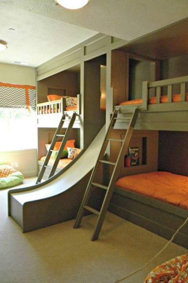 Add An Element Of Fun With Indoor Slides Design Dazzle