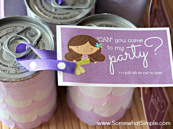 Easy Birthday Invitations