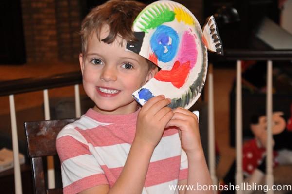 Sea Creature Kid Crafts-6