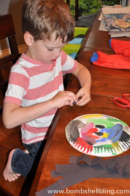 Sea Creature Kid Crafts-8