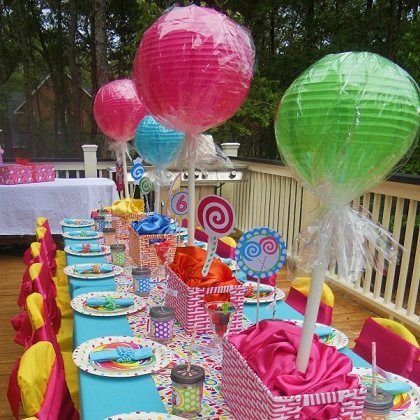 Giant Lollipop Centerpieces Design Dazzle