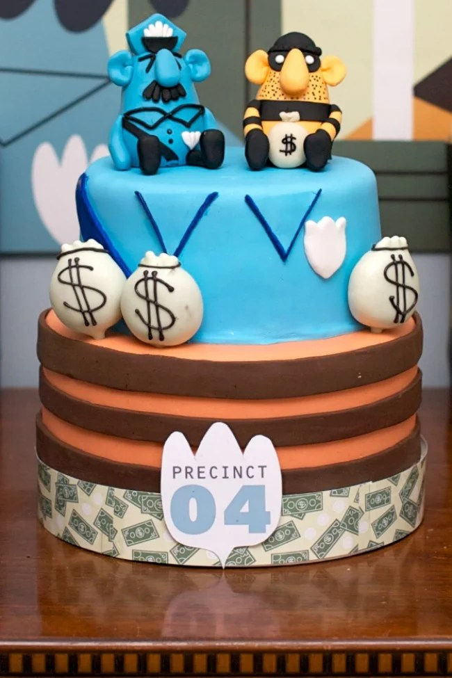 Cops And Robbers Themed Birthday Party Design Dazzle