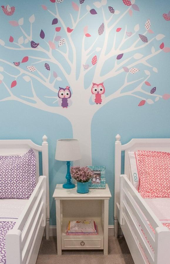 Seasonal Twin Girls Room Design Dazzle