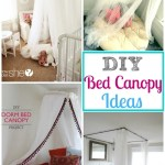 Simple Diy Bed Canopy Round Up Ideas