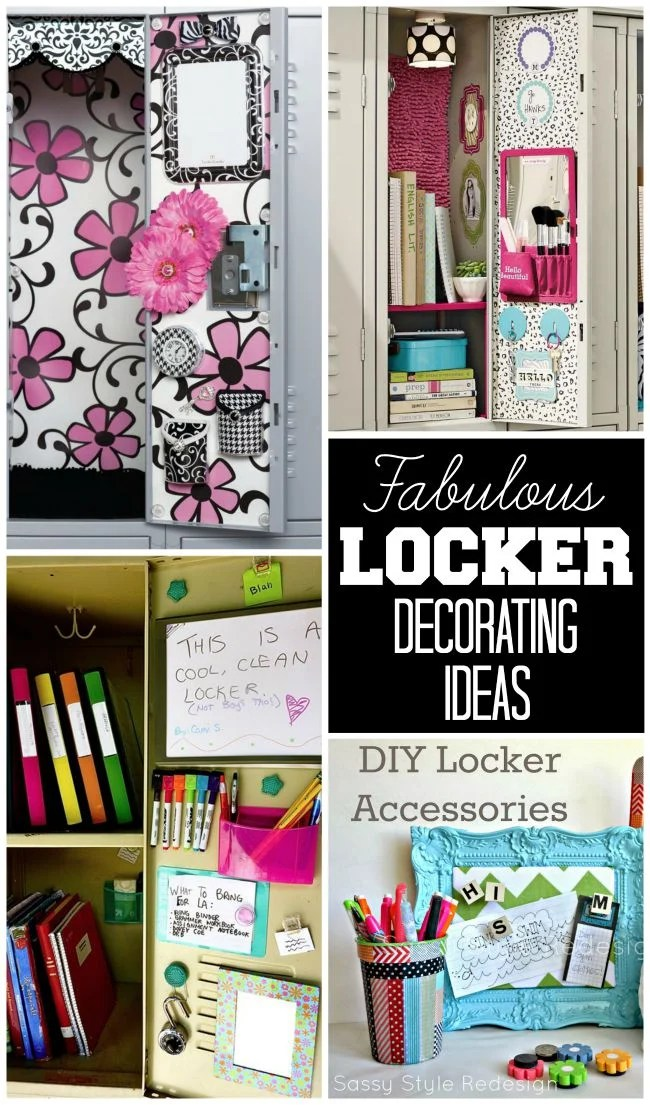 Locker Decorating Ideas Design Dazzle