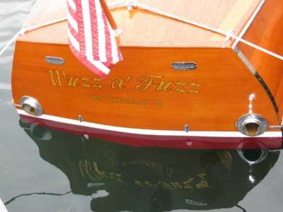 Hessel Antique Wooden Boat show