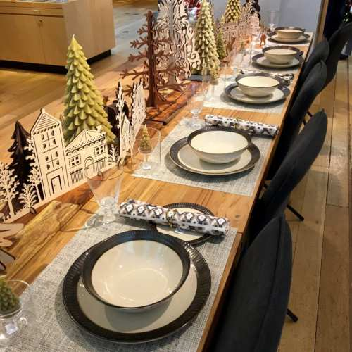 Table Top Holiday Design in Chicago
