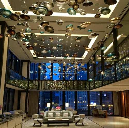 Lobby Langham hotel