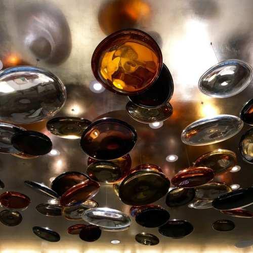 Glass sculpture, Langham Hotel, Chicago