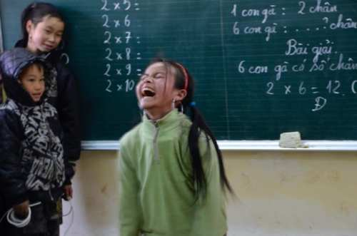 Learning to jump rope in North Vietnam