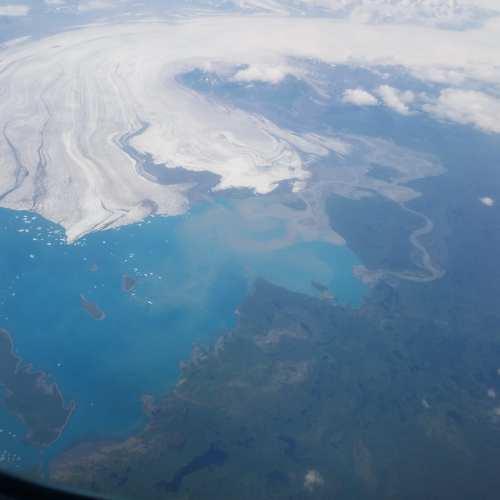 Further out, same glacier