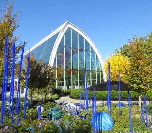 Chihuly Glass Museum--outdoors
